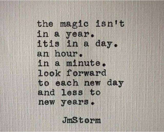 hope JmStorm magic quote