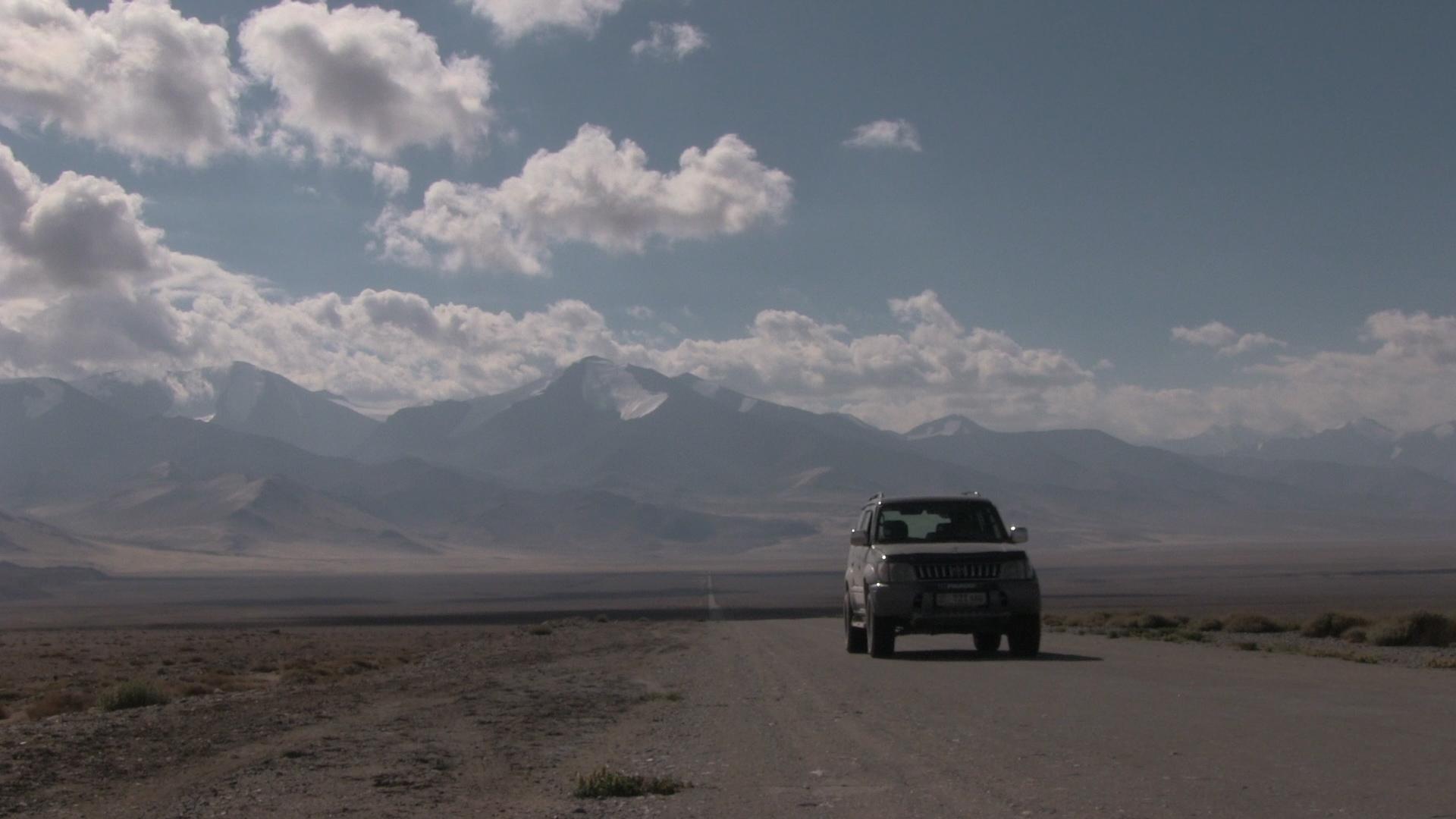 Car 3000km Central Asia