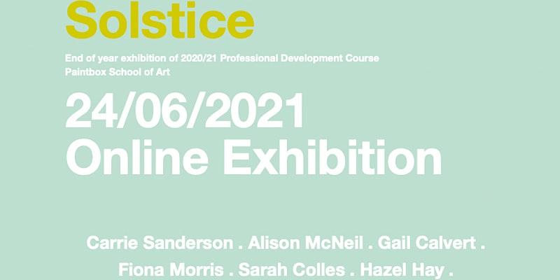 Solstice online exhibit opening