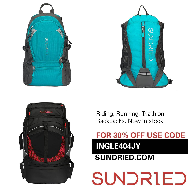 Bank Hol Energised Sundried backpacks